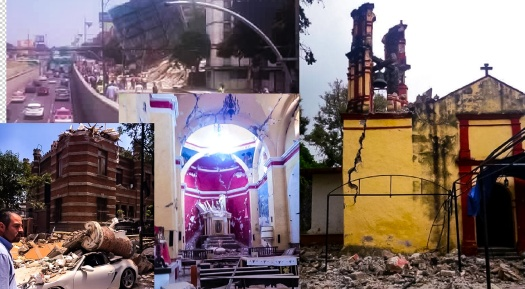 Churches, Historic Buildings collapsed